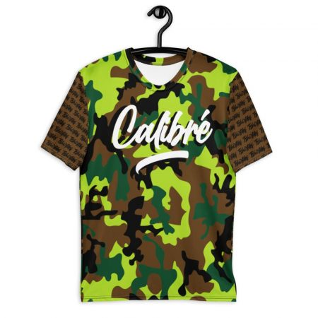 T-shirt brown Calibré