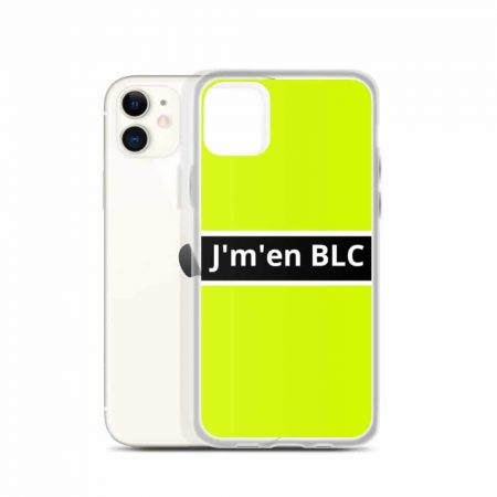 Coque pour iPhone Acid J'm'en BLC