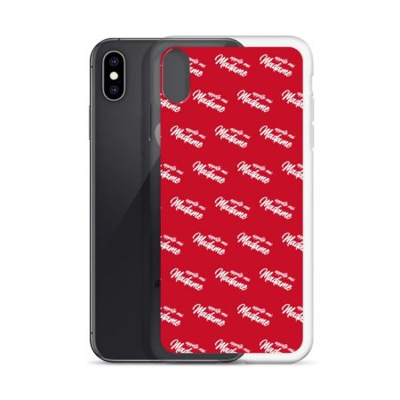 Coque pour iPhone Red Appelle moi madame