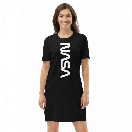 Robe t-shirt Nasa en coton bio