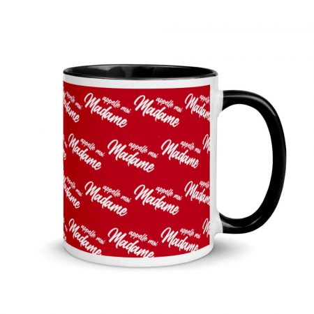 Mug Red Appelle moi madame