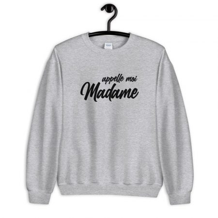 Sweat Classic2 Appel moi Madame